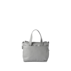 mellow leather tote shopper