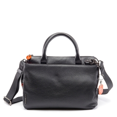 mellow leather handbag