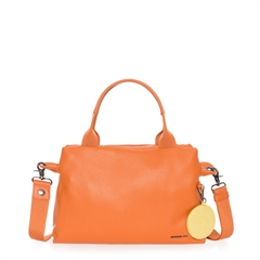 mellow leather boston bag