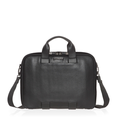 mode leather briefcase