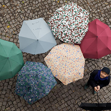 Mandarina Duck loves: Aerodynamic umbrellas