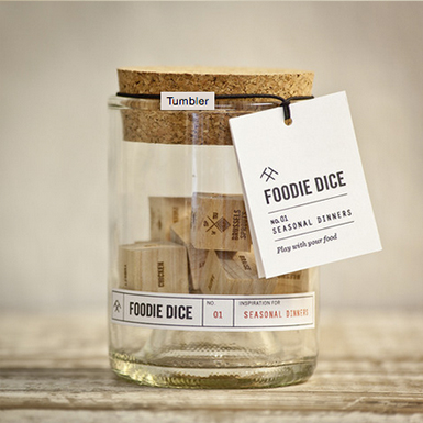 Mandarina Duck loves: Foodie Dice