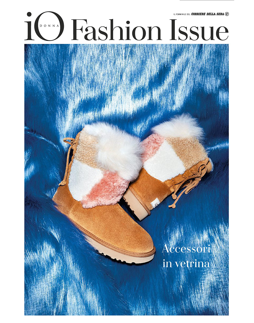 IO DONNA FASHION ISSUE COVER