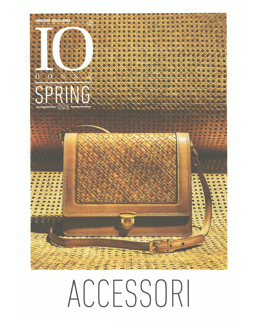 IO DONNA FASHION ISSUE ACCESSORI COVER