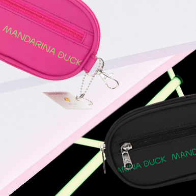 7d83df704b Borse, trolley, zaini, portafogli: lo shop online | Mandarina Duck